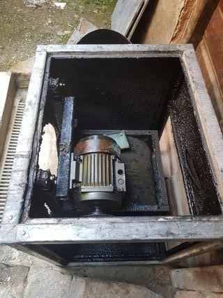 extractor de humo industrial