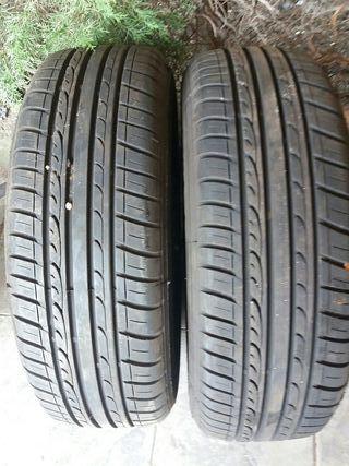 llanta y neumáticos pareja de ruedas 50€ tengo 4