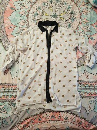 camisa gatos