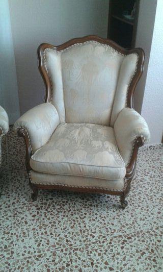 sillón estilo clásico