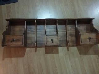 Estantería- Altillo Vintage (madera maciza)