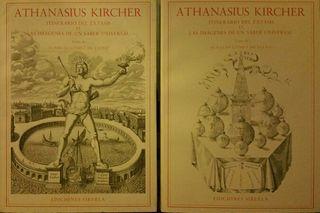 """Libros Athanasius Kircher """"Itinerario del éxtasis"""""""