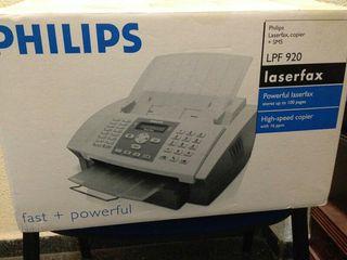 fotocopiadora y fax Philips LFP 920