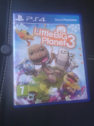 little big planet 3 Juego ps4