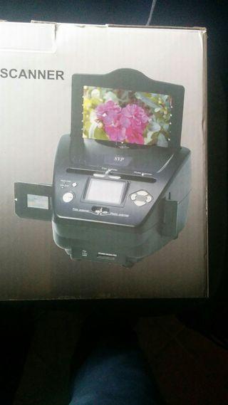 scanner de fotos, negativos y diapositivas