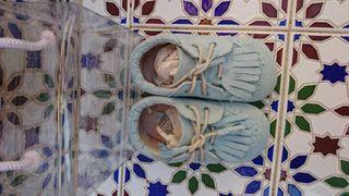 Zapatos de Mayoral para bebé. Número 19.