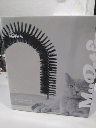 Arco masajeador gatos