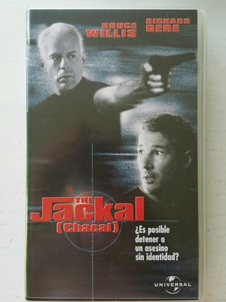 The Jackal (Chacal) película Vhs