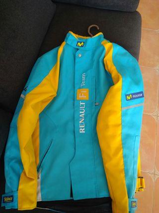 chaqueta renault, movistar F1