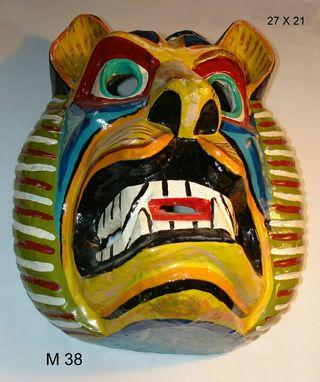 Mascara de Tigua