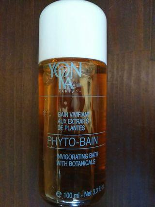 Aceite para baño marca Yonka
