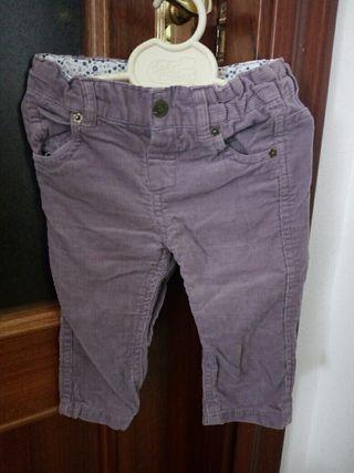 pantalón pana 9 meses