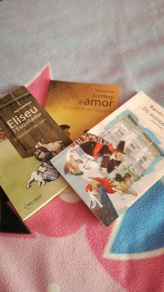 OFERTA ! libros Valenciano 3 libros por 5€