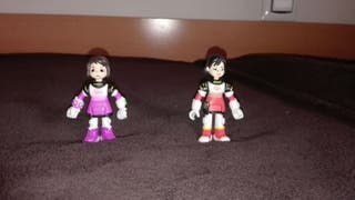 Figuras Loretta y Phoebe de Miles del futuro