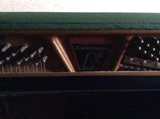 Piano pared Zimmermann
