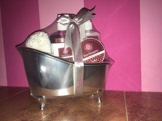 Bañera chica de productos