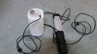 Atrapamosquitos electrico + Lampara trabajo