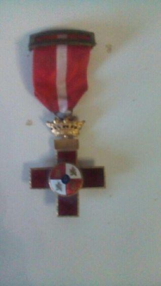 medalla guerra