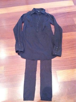 Leggings y camisola premamá marca Mamalicious