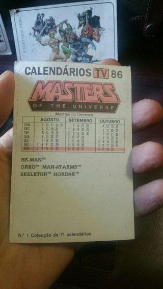 calendarios he man master del universo