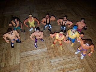 Muñecos WWF antiguos