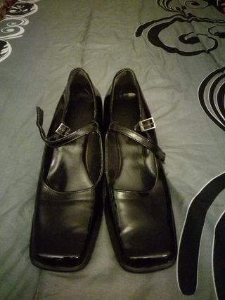 zapato clasico mujer