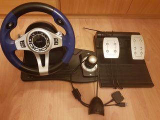 volante y pedales Ps2, PS3 y PS4