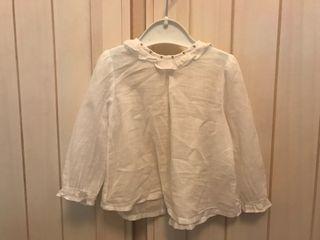 Camisa batista talla 12 meses