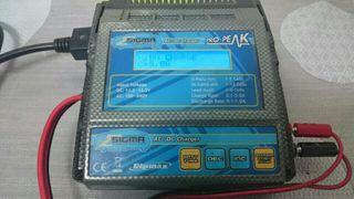 Cargador baterías rc sigma