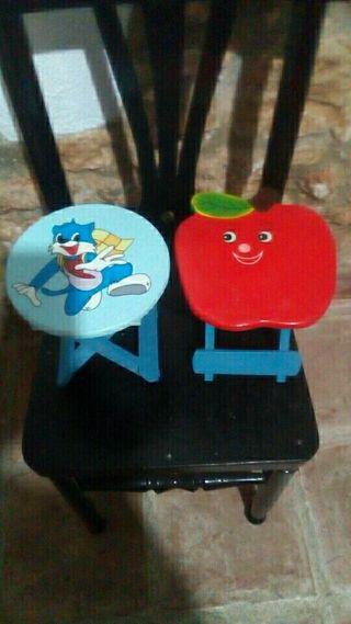 2 sillas infantiles