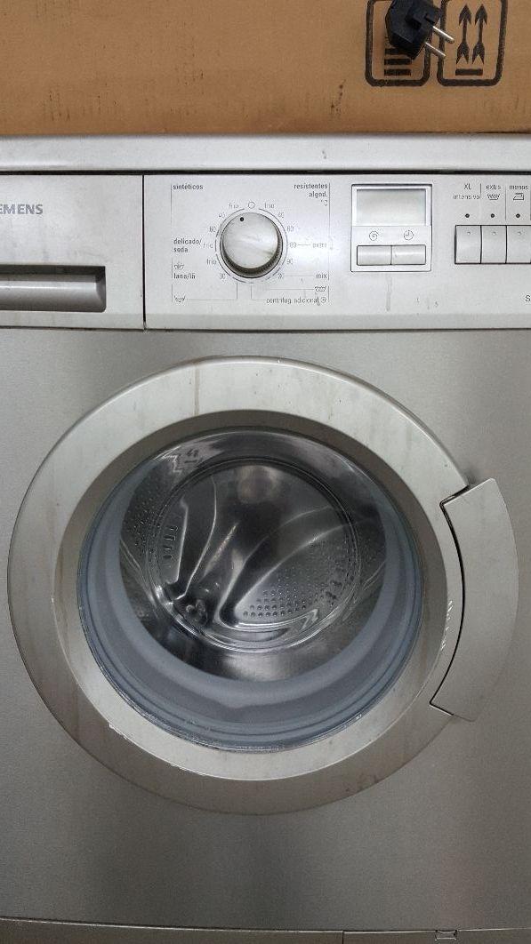 lavadora Siemens con transporte