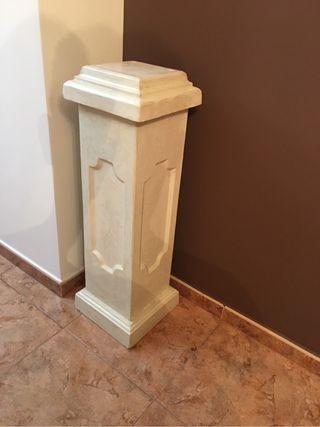 Columna decoración