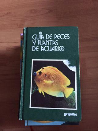 Libro peces y plantas acuario