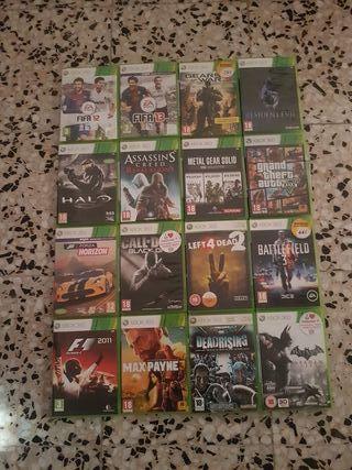 Pack de videojuegos Xbox 360