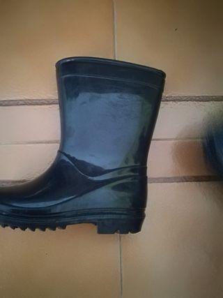 botas agua 26