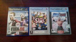Lote juegos play2