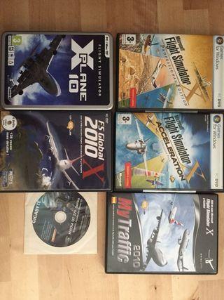 juegos flight simulator pack