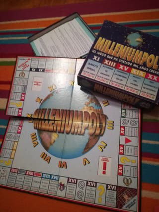Juego de mesa Milleniumpoly