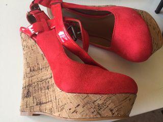 Zapatos plataforma Talla 38