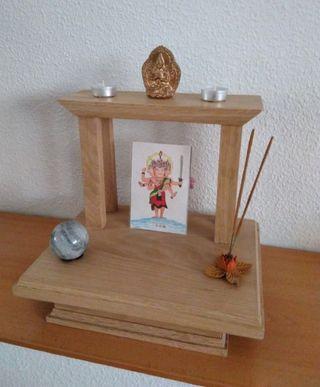 Altar santuario en madera