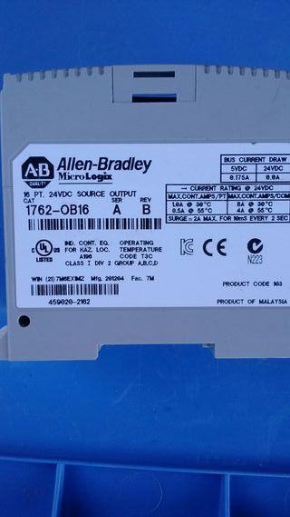 Módulo Micrologix Allen Brandley 16 E