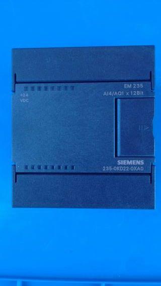 Módulo Siemens Em 235 de 4 E analógicas y 1 salida