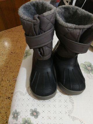 botas de agua muy poco uso