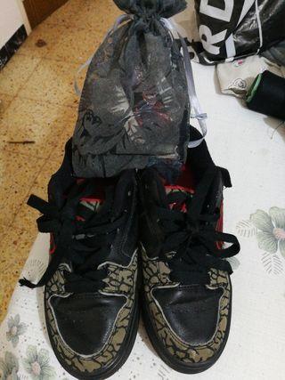 zapatos de rueda en buen estado número 34
