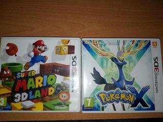 Lote 2 juegos nintendo 3ds