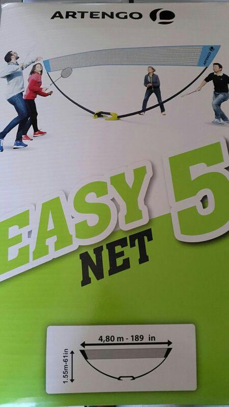 Red easy net 5m Artengo