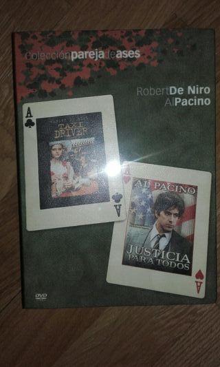 Pack peliculas Al pacino y De Niro