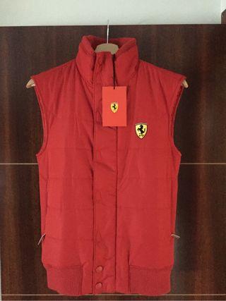 Chaleco rojo unisex Ferrari