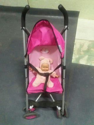 silla de paseo de juguete