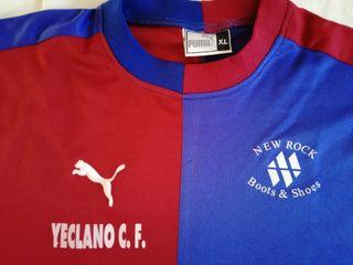 Camiseta fútbol YECLANO CF